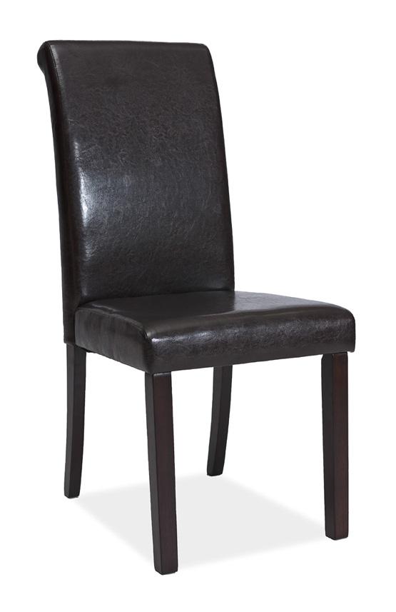 SIGNAL - C-111 tmavohnedá stolička