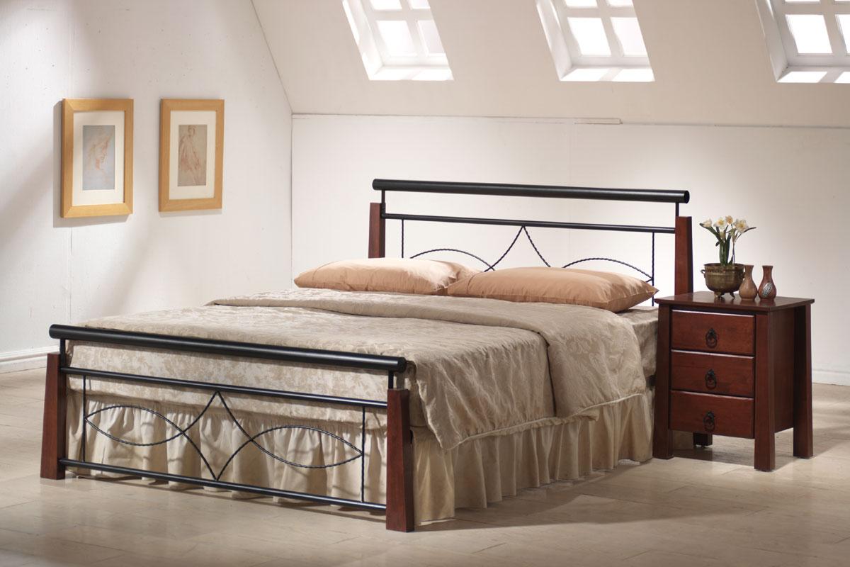 LAROCHELLE kovová posteľ 180