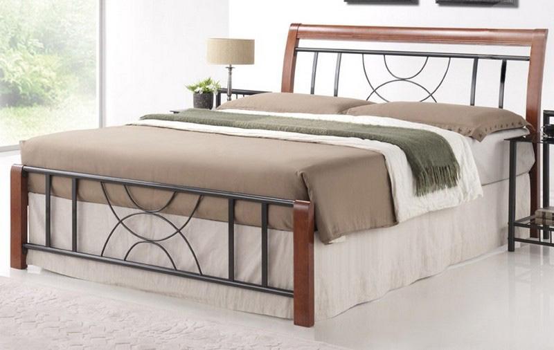 CORTINA 160 kovová posteľ